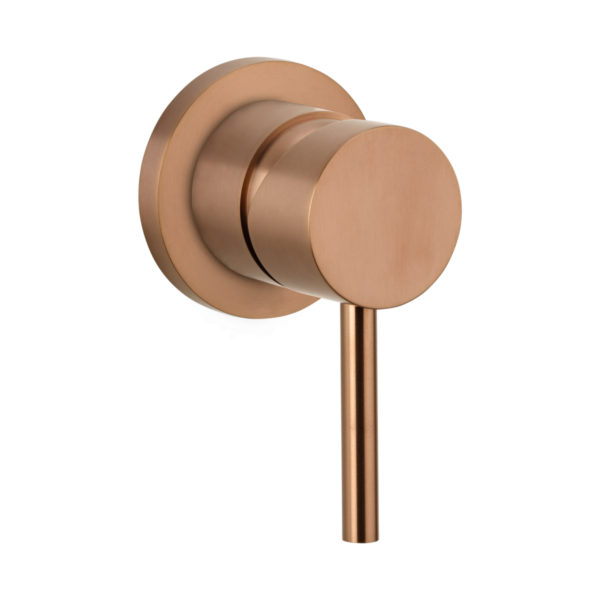 Elysian Commercial Minimal Mixer - Brushed Copper
