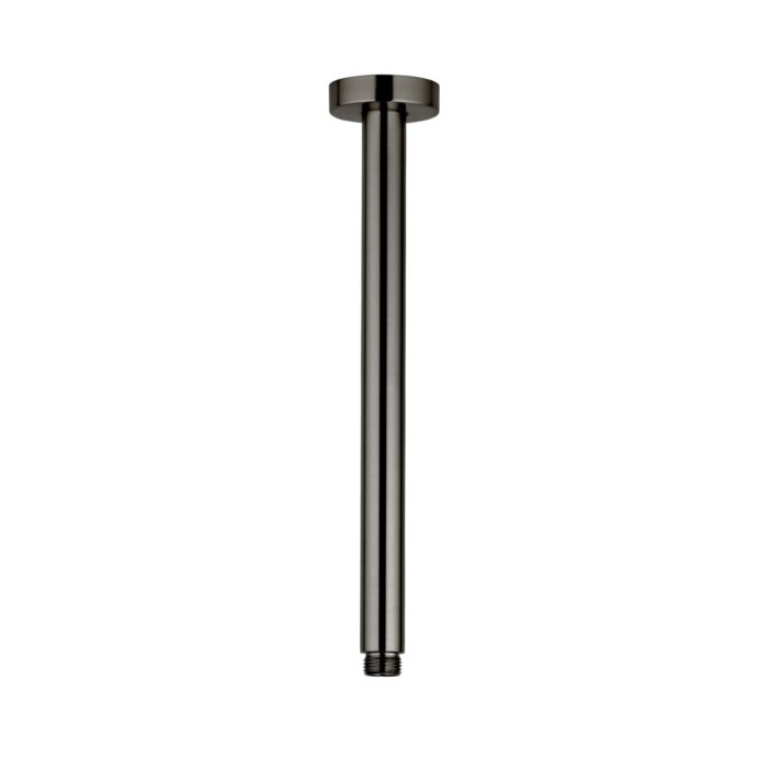 Nava Shower Dropper Round 300mm - Gunmetal