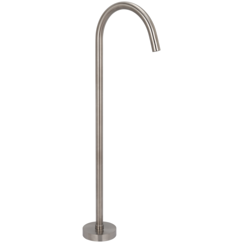 Oscar Floor Mounted Bath Filler - Stainless Steel